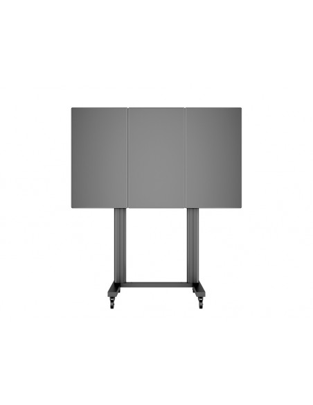 Multibrackets M Public Video Wall Stand Portrait 3-Screens 40-55'' Black Multibrackets 7350073731800 - 8