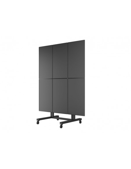 Multibrackets M Public Video Wall Stand Portrait 6-Screens 40-55'' Black Multibrackets 7350073731824 - 9