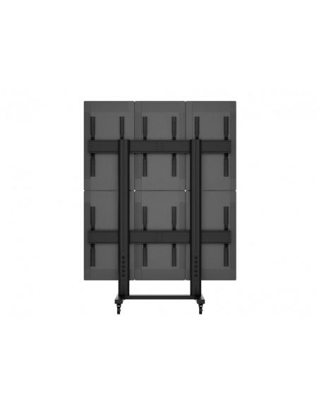 Multibrackets M Public Video Wall Stand Portrait 6-Screens 40-55'' Black Multibrackets 7350073731824 - 10