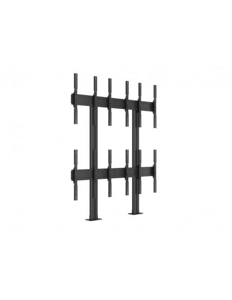 Multibrackets M Public Video Wall Stand Portrait 6-Screens 40-55'' Black Multibrackets 7350073731824 - 15