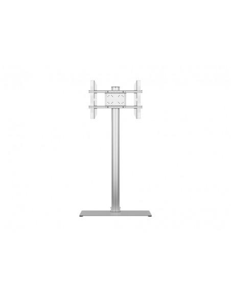 Multibrackets M Display Stand 180 Single Silver w. Floorbase Multibrackets 7350073732418 - 2