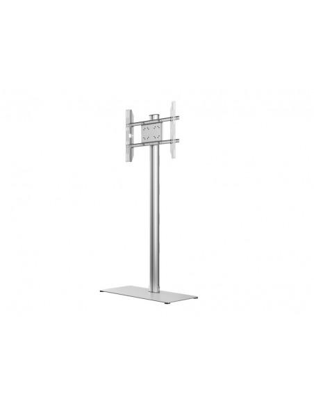 Multibrackets M Display Stand 180 Single Silver w. Floorbase Multibrackets 7350073732418 - 3