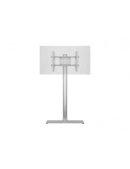 Multibrackets M Display Stand 180 Single Silver w. Floorbase Multibrackets 7350073732418 - 12