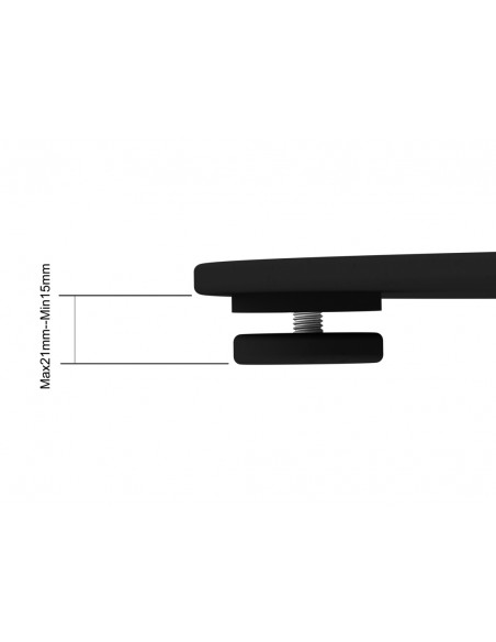 """Multibrackets 2418 fäste för skyltningsskärm 160 cm (63"""") Silver Multibrackets 7350073732418 - 18"""