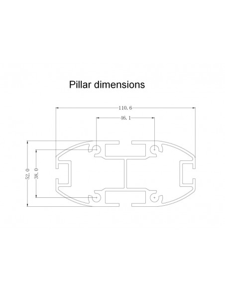 Multibrackets M Display Stand 180 Single Silver w. Floorbase Multibrackets 7350073732418 - 21