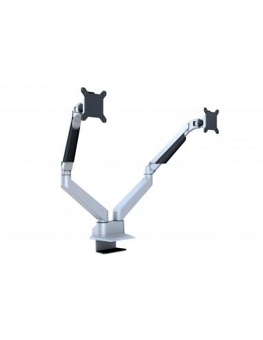 Multibrackets M VESA Gas Lift Arm Dual Side by Silver Multibrackets 7350073733972 - 1