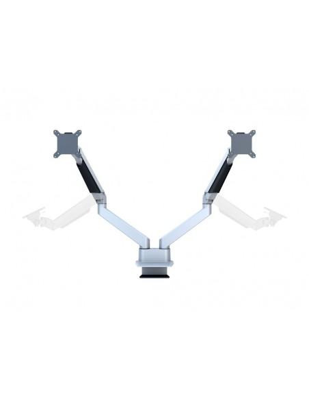 Multibrackets M VESA Gas Lift Arm Dual Side by Silver Multibrackets 7350073733972 - 7