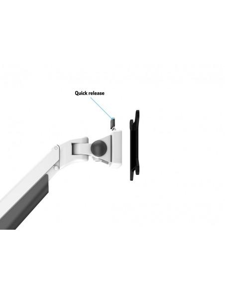 """Multibrackets 3989 monitorin kiinnike ja jalusta 81.3 cm (32"""") Puristin Valkoinen Multibrackets 7350073733989 - 10"""