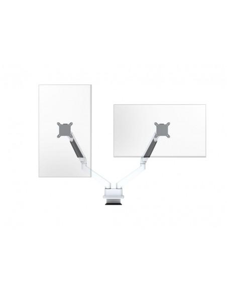 """Multibrackets 3989 monitorin kiinnike ja jalusta 81.3 cm (32"""") Puristin Valkoinen Multibrackets 7350073733989 - 13"""