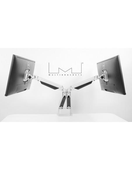 """Multibrackets 3989 monitorin kiinnike ja jalusta 81.3 cm (32"""") Puristin Valkoinen Multibrackets 7350073733989 - 23"""