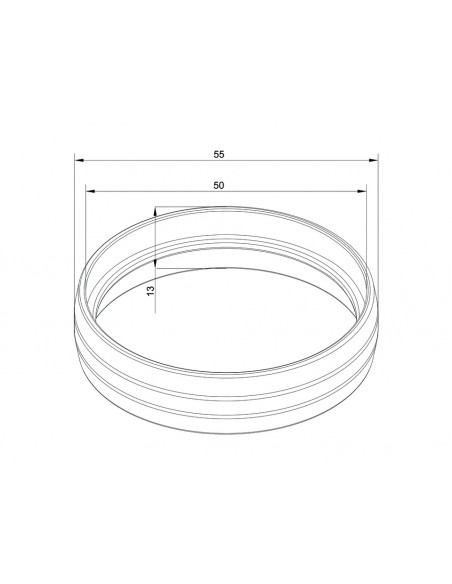 Multibrackets M Pro Series - Internal Pole Joiner Multibrackets 7350073734191 - 5