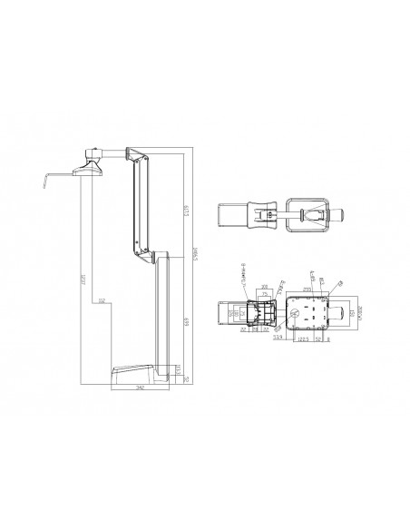 Multibrackets M VESA Full Motion Medical Arm HD Multibrackets 7350073734276 - 4