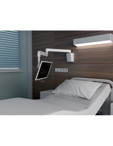"""Multibrackets 4276 monitorin kiinnike ja jalusta 68.6 cm (27"""") Valkoinen Multibrackets 7350073734276 - 5"""