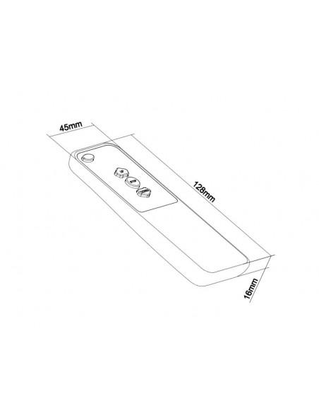 Multibrackets 4290 kauko-ohjain Taulutelevision kattokiinnikkeet Painikkeiden painaminen Multibrackets 7350073734290 - 2