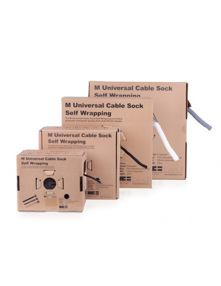 Multibrackets M Universal Cable Sock Self Wrapping 5mm Orange 25m Multibrackets 7350073734399 - 8