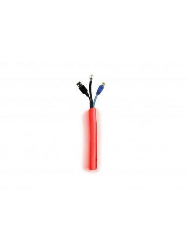 Multibrackets 4498 kabelsamlare Kabelstrumpa Röd 1 styck Multibrackets 7350073734498 - 1