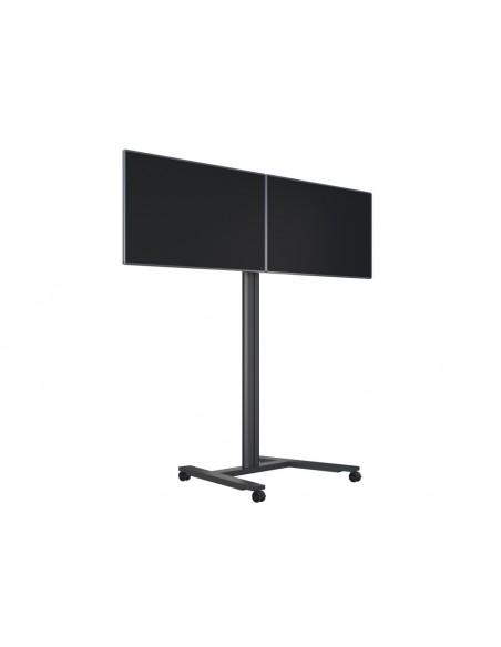Multibrackets M Public Display Stand 180 HD Dual Black Multibrackets 7350073735358 - 8