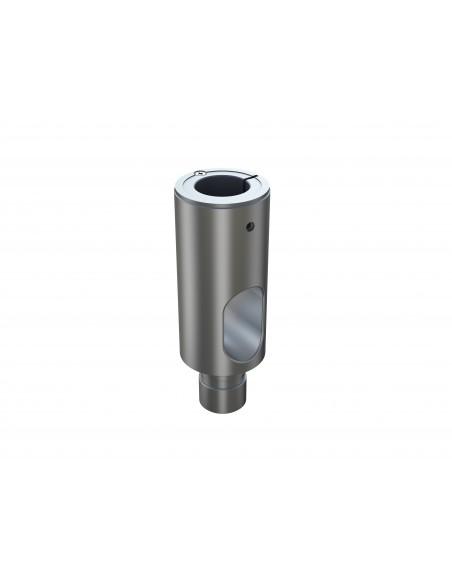 Multibrackets M Extension Pipe 10cm for VESA Gas Lift Arm Single Silver Multibrackets 7350073735402 - 1