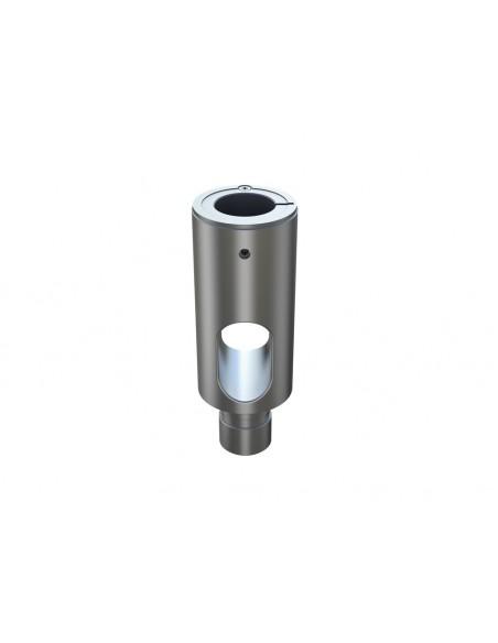 Multibrackets M Extension Pipe 10cm for VESA Gas Lift Arm Single Silver Multibrackets 7350073735402 - 2