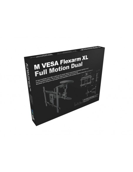 Multibrackets M VESA Flexarm XL Full Motion Dual Multibrackets 7350073736317 - 14