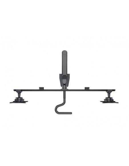 Multibrackets M VESA Gas Lift Arm w. Duo Crossbar 2 Black Multibrackets 7350073736355 - 6