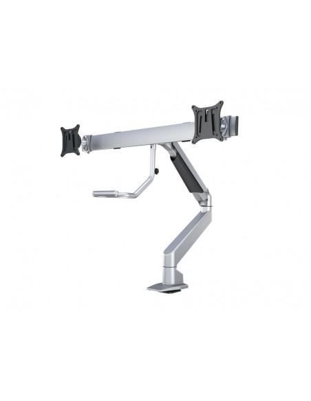 Multibrackets M VESA Gas Lift Arm w. Duo Crossbar 2 Silver Multibrackets 7350073736362 - 4