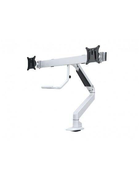 Multibrackets M VESA Gas Lift Arm w. Duo Crossbar 2 White Multibrackets 7350073736379 - 4