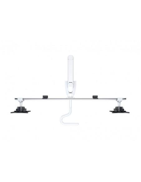 """Multibrackets 6379 monitorin kiinnike ja jalusta 71.1 cm (28"""") Puristin Valkoinen Multibrackets 7350073736379 - 7"""