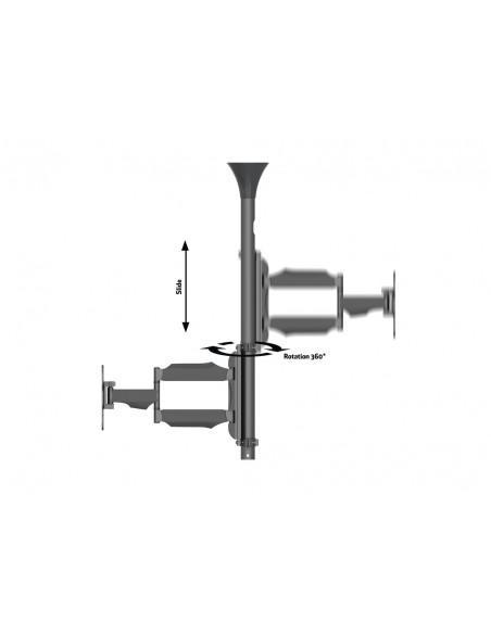 """Multibrackets 6416 fäste för skyltningsskärm 106.7 cm (42"""") Svart Multibrackets 7350073736416 - 9"""