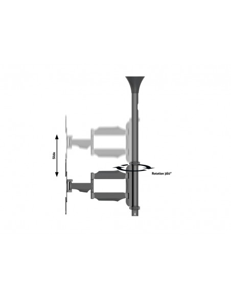 Multibrackets M Ceiling Mount Pro MBC1F Multibrackets 7350073736423 - 9