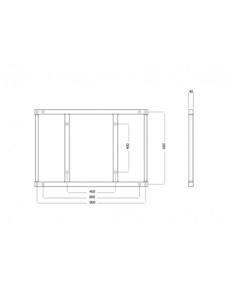 Multibrackets M Extender Kit Push SD 900/800x600 Multibrackets 7350073736515 - 7