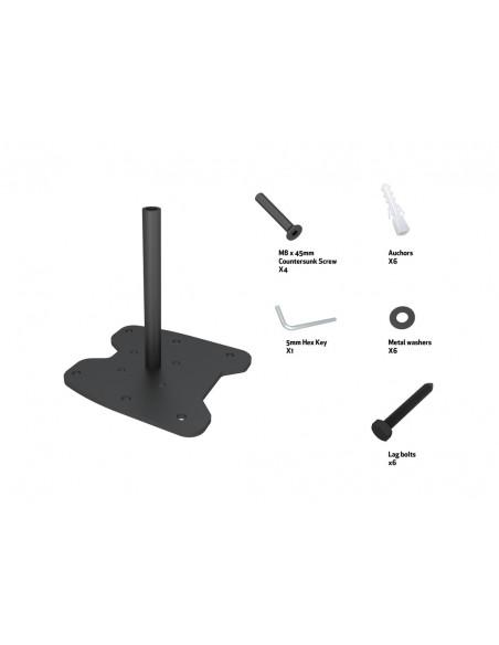 Multibrackets M Pro Series - Bolt Down Floor Plate Multibrackets 7350073736584 - 6
