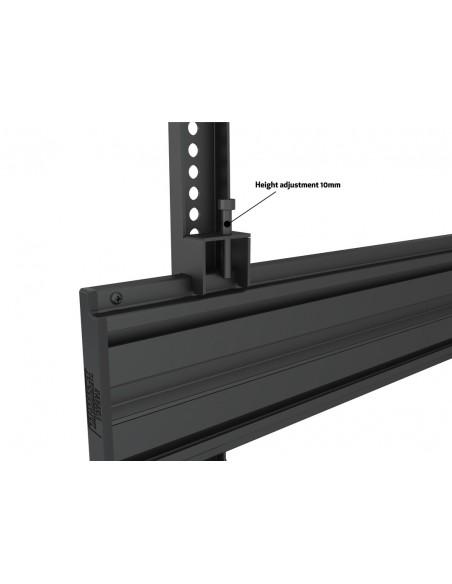 """Multibrackets 6621 kyltin näyttökiinnike 165.1 cm (65"""") Musta Multibrackets 7350073736621 - 8"""