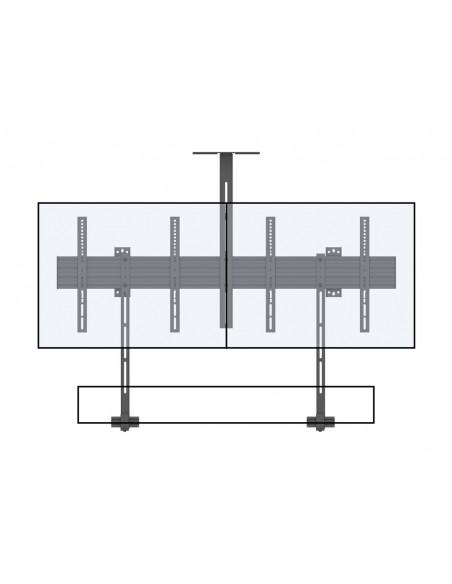 """Multibrackets 6621 fäste för skyltningsskärm 165.1 cm (65"""") Svart Multibrackets 7350073736621 - 12"""