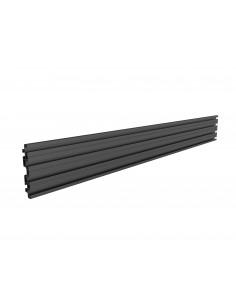 Multibrackets M Pro Series - Single Screen Rail 100cm Black Multibrackets 7350073738021 - 1