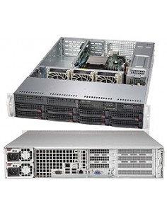 Supermicro SuperServer 5028R-WR Intel® C612 LGA 2011 (Socket R) Rack (2U) Silver Supermicro 8600258119 - 1