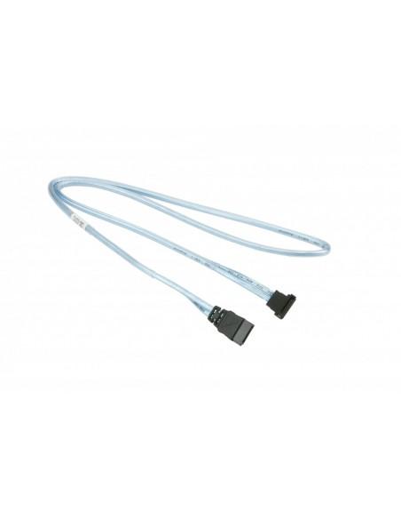 Supermicro CBL-0231L SATA-kablar 0.7 m Svart, Blå Supermicro CBL-0231L - 1