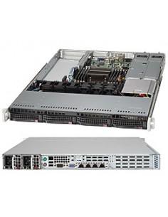 Supermicro CSE-819TQ-R700WB tietokonekotelo 1U Musta 700 W Supermicro CSE-819TQ-R700WB - 1