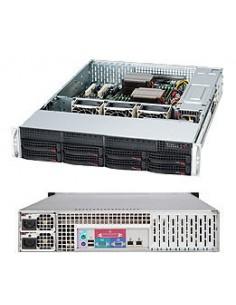 Supermicro SuperChassis 825TQC-R1K03LPB Ställning Svart 1000 W Supermicro CSE-825TQC-R1K03LPB - 1