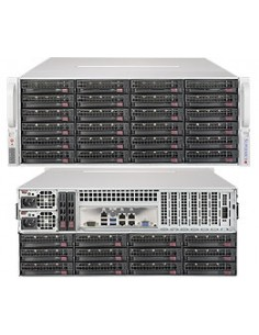 Supermicro SuperServer 6049P-E1CR36H C624 LGA 3647 (Socket P) Teline ( 4U ) Musta Supermicro SSG-6049P-E1CR36H - 1