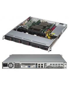 Supermicro 1028R-MCT Intel® C612 LGA 2011 (Socket R) Teline ( 1U ) Musta Supermicro SYS-1028R-MCT - 1