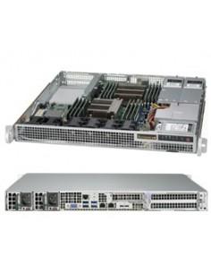 Supermicro 1028R-WMRT Intel® C612 LGA 2011 (Socket R) Teline ( 1U ) Harmaa Supermicro SYS-1028R-WMRT - 1
