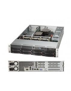 Supermicro SuperServer 6028R-WTR LGA 2011-v3 Rack (2U) Black Supermicro SYS-6028R-WTR - 1
