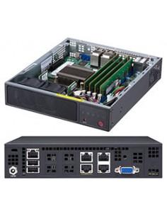 Supermicro SuperServer E200-9A Intel SoC BGA 1310 Rack (1U) Black Supermicro SYS-E200-9A - 1
