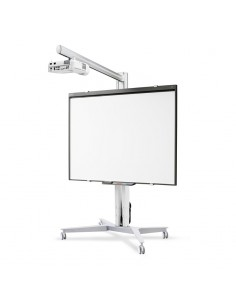 SMS Smart Media Solutions AE018010-P0 projektorin kiinnike Lattia Alumiini, Musta Sms Smart Media Solutions AE018010-P0 - 1