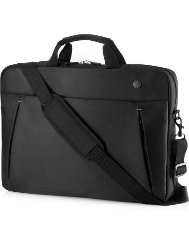 "HP 17.3 Business Slim Top Load notebook case 43.9 cm (17.3"") Briefcase Black Hp 2UW02AA - 1"