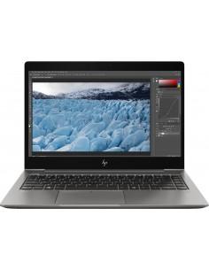 "HP ZBook 14u G6 Mobiilityöasema 35.6 cm (14"") 3840 x 2160 pikseliä 8. sukupolven Intel® Core™ i7 16 GB DDR4-SDRAM 512 SSD AMD Hp"