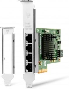 HP Intel Ethernet I350-T4 4-Port 1Gb NIC Internal 1000 Mbit/s Hp W8X25AA - 1