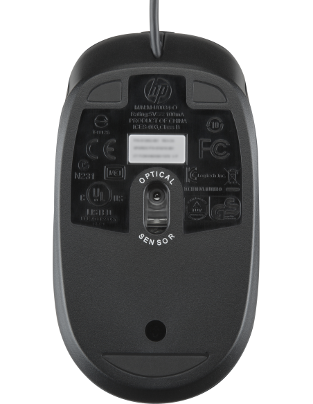 HP USB optisk mus 2.9 m Hp Z3Q64AA - 2